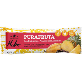 Hiba Purafruta Energy Bar Box 12x30g Pineapple/Cocoa Nibs